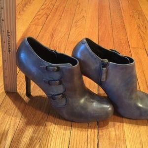 Cole Haan Marla Sarapova Gray Booties Size 8B